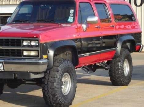 87-91 Chevrolet Blazer, Bushwacker #40019-11