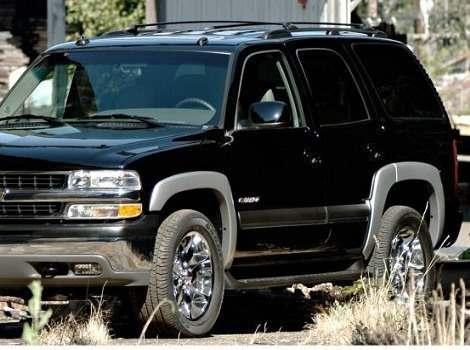 00-06 Chevrolet Tahoe OE Style Fender Flare Set of 4, Bushwacker #40910-02