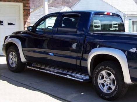 Bushwacker Dodge Dakota on 2001 Dodge Dakota Base