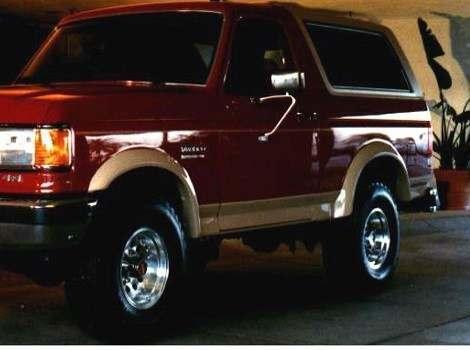 87-91 Ford Bronco Extend-A-Fender Flare Set of 4, Bushwacker #20903-01