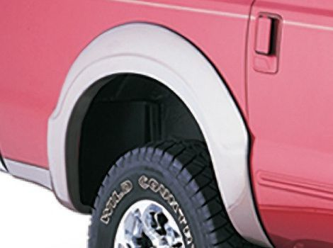 Ford Excursion Rear View, Bushwacker #20910-02
