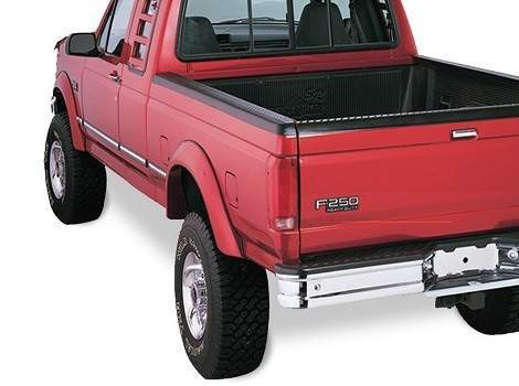 92-96 Ford F250 Extend-A-Fender Flare Set of 4, Bushwacker #20904-11