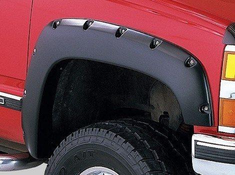 89-93 GMC C/K 1500 Pocket Style Fender Flare Front Pair, Bushwacker #40061-02