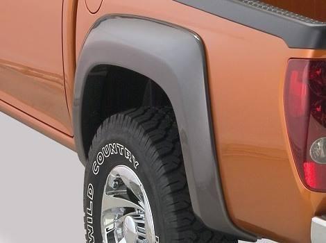 GMC Canyon Extend-A-Fender Flare Rear Pair, Bushwacker #41028-02