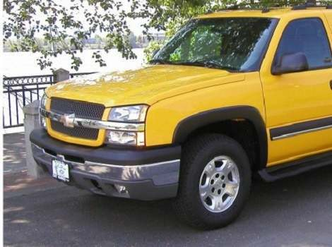 03-06 Chevrolet Avalanche, Bushwacker #40920-02