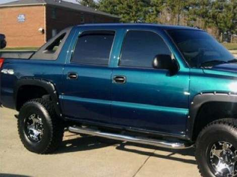 07-14 Chevrolet Avalanche, Bushwacker #40932-02