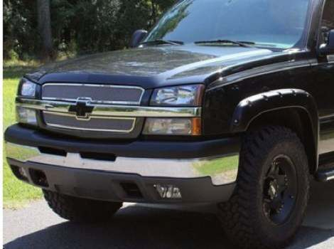 07-13 Chevrolet Avalanche, Bushwacker #40933-02