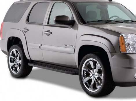 Bushwacker, GMC Yukon, Front & Rear
