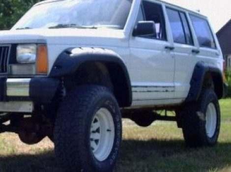 Bushwacker, Jeep Cherokee, # 10911-07
