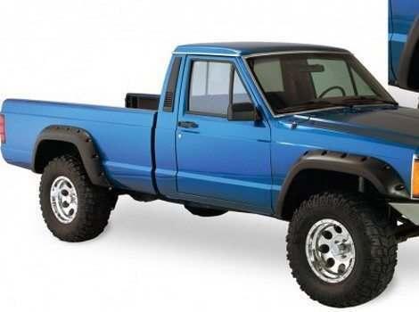 Bushwacker, Jeep Cherokee, # 10912-07