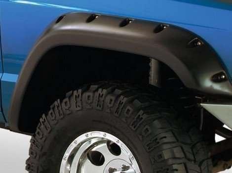 Bushwacker, Jeep Comanche, # 10912-07