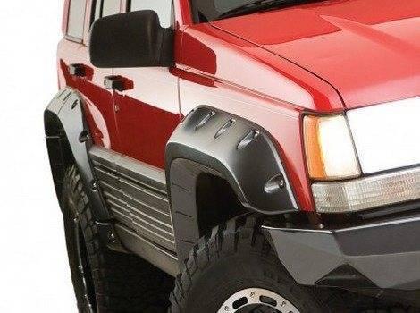 Bushwacker, Jeep Grand Cherokee, # 10916-07
