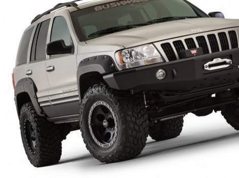Bushwacker Jeep Grand Cherokee on 1995 Jeep Grand Cherokee Custom Bumper