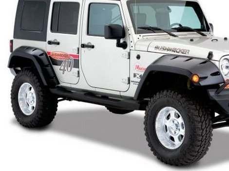 Bushwacker, Jeep Wrangler, # 10044-02