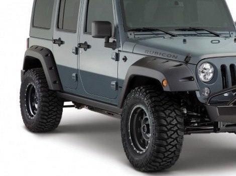 Bushwacker, Jeep Wrangler, # 10080-02
