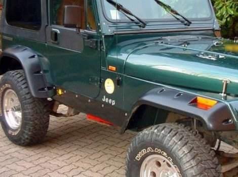Bushwacker, Jeep Wrangler, # 10909-07