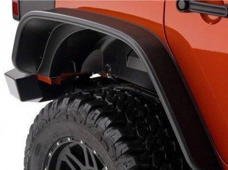 Bushwacker, Jeep Wrangler, # 10918-07