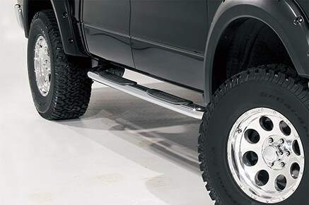 Dee Zee 4 Inch Oval Step Bars