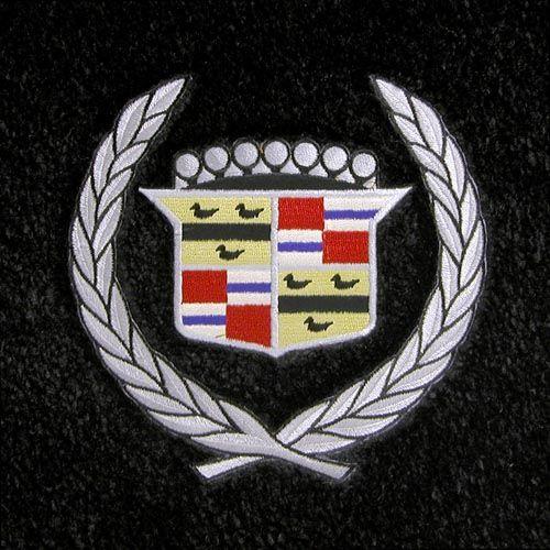 Cadillac Logo Floor Mats Partcatalog Com