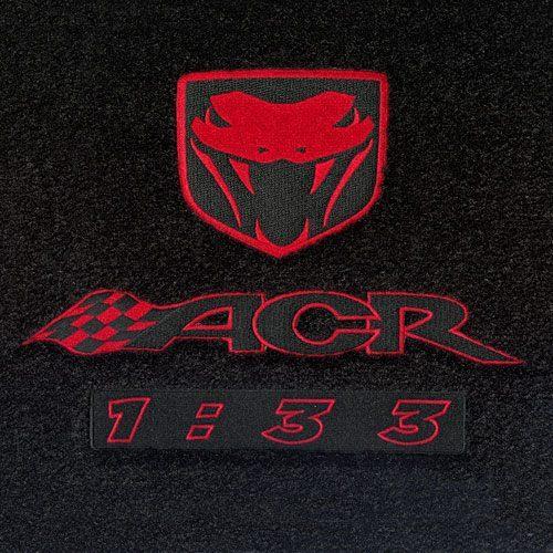 Dodge Viper Logo Floor Mats Partcatalog Com
