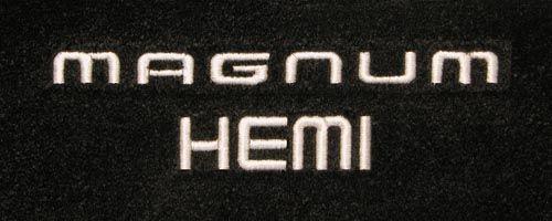 Dodge Magnum Logo Floor Mats Partcatalog Com