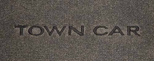 Lincoln Town Car Logo Floor Mats Partcatalog Com