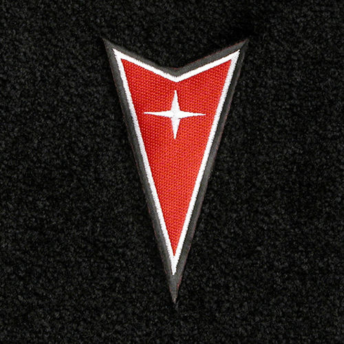 Pontiac Logo Floor Mats Partcatalog Com