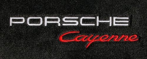 Porsche Cayenne Embroidery Version 2