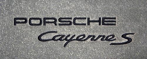 Porsche Cayenne S Embroidery Version 1