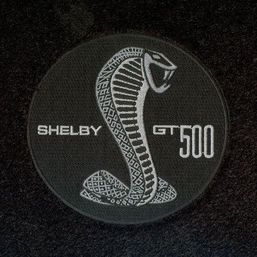 shelby gt500 cobra badge version 1