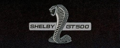 ford mustang shelby logo floor mats - partcatalog