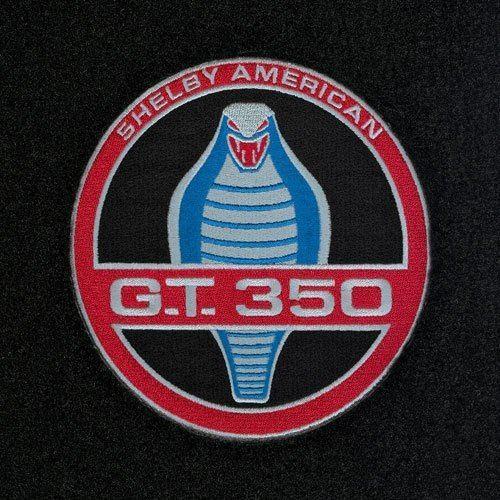 shelby gt350 cobra badge