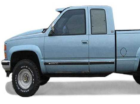 88-98 GMC C/K 1500 Street Style, TrueEdge #SS4101