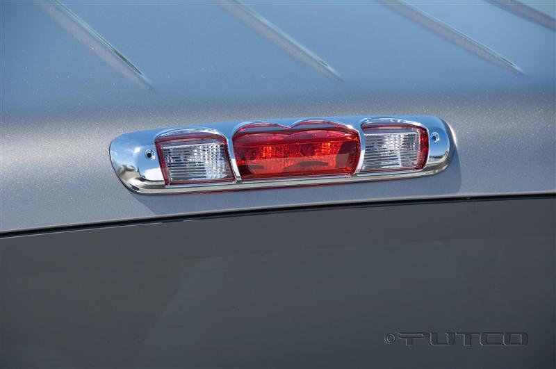 Third Brake Light Covers : Putco chrome rd brake light covers fast shipping