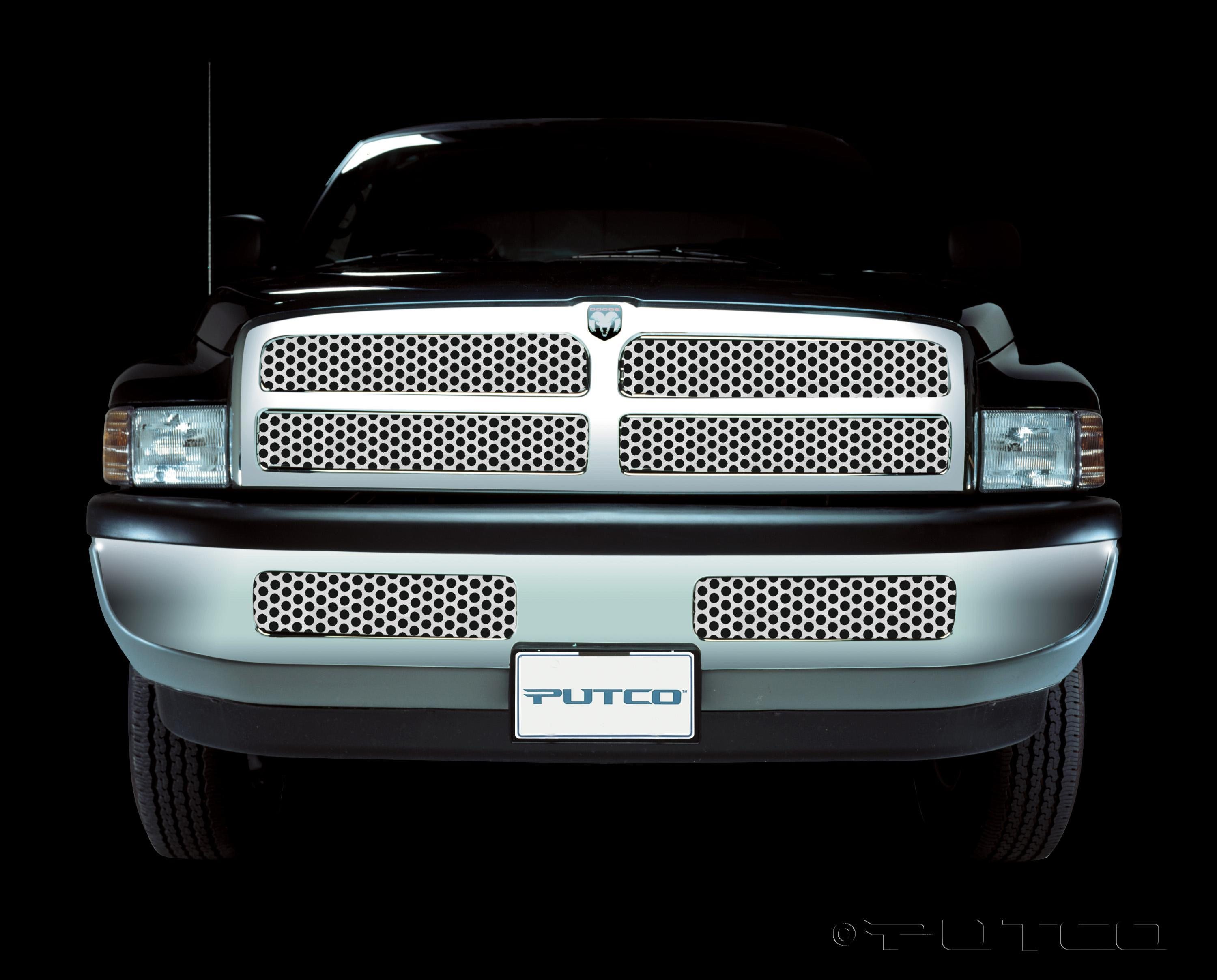 Putco punch stainless steel grille insert fast shipping