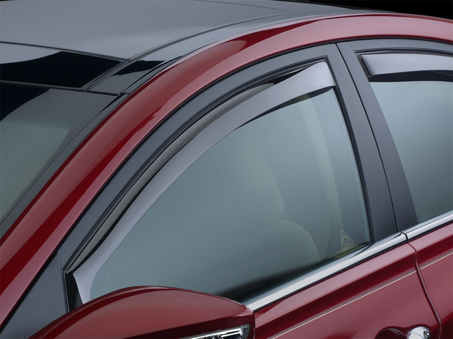 Nissan Sentra 2012 Accessories >> WeatherTech In-Channel Side Window Deflectors - In Stock