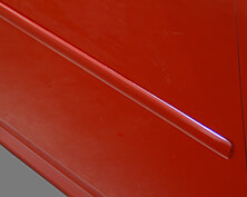 1.25 Inch Painted Angle Tip Door Molding