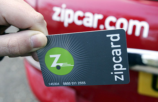 ZipCar car-sharing