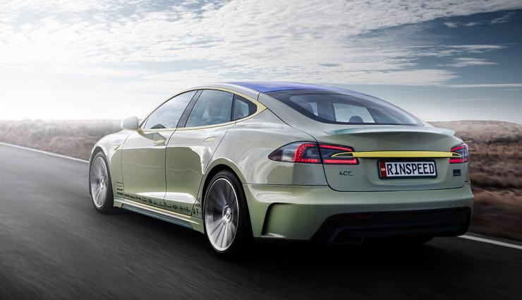 Autonomous Tesla Model S