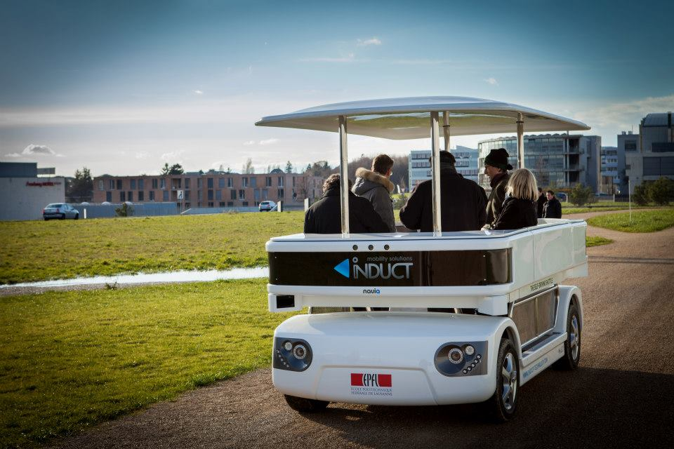 Navia Driverless Vehicle