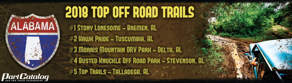 2018 Top Off Road Trails & Parks in America (Ranked by State)