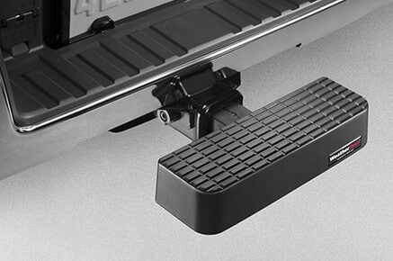 Upgrade your SUV with this WeatherTech Bumpstep
