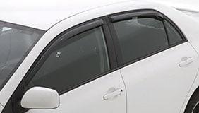 AVS window visors installed