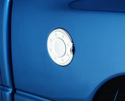 AVS Chrome Fuel Door Cover
