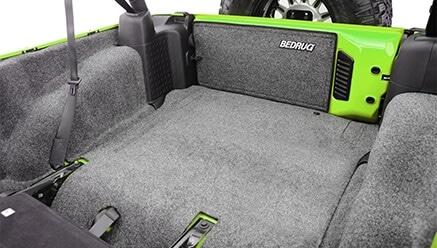 BedRug Classic Cargo Jeep Floor Liner Kit