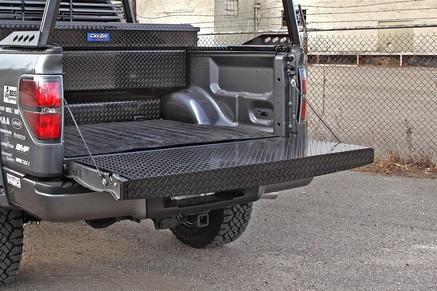 Black Tread Full Tailgate Protector