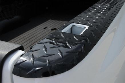 Black Tread Wrap Side Truck Bed Caps