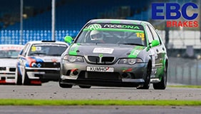 BMW racing sponsored by EBC