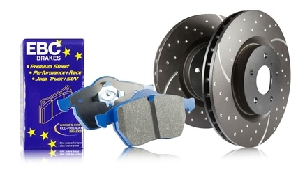 S6 Bluestuff and GD Rotors Kit