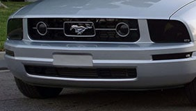 GT head light covers installed